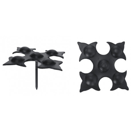Clavo Italiano Negro 22mm.73500