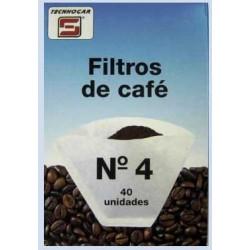 Filtro Cafe 1x4 (40 Unid.)762