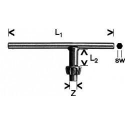 Llave Portabrocas Corona Dentada 06mm Bosch