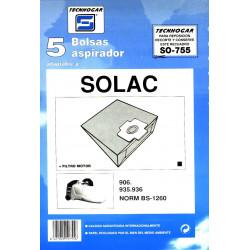 Bolsa Aspirador Solac 935-936 5p.755