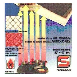 Filtro Campana Carbono Ref.805
