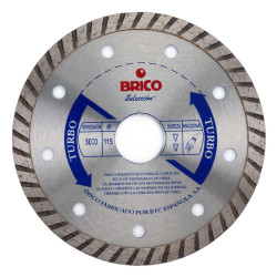 Disco Sinterizado Brico Turbo 115 Mm. 543031931