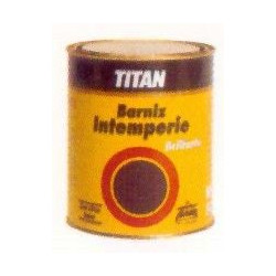 Barniz Oleo-sinteti Brillan Titan Intemperie 500ml 039000112