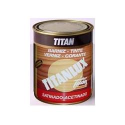 Barniz Sintetico Satinado Titanlux 1 Litro 035000101