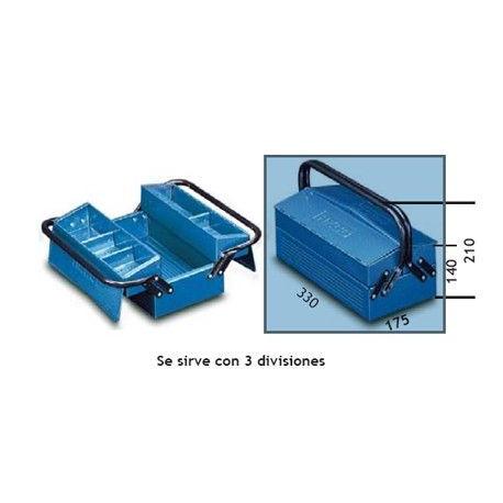 Caja Herram 330x175x140mm Met 102.3 Heco