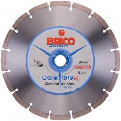 Disco Sinterizado Corte Seco Brico 230 Mm. 543031966