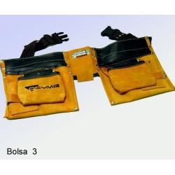 Bolsa Encofrador Cuero Ref.3