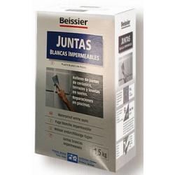Mortero Juntas Blancas Impermea Inte/exter Estuche 1,5kg 780