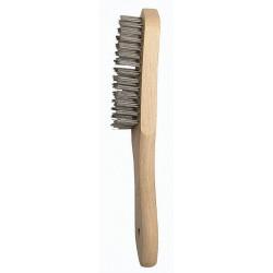 Cepillo Manual Acero Inoxid C/mango 4 Hileras 50802-4 Bellot
