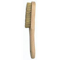 Cepillo Manual Laton C/mango 4 Hileras 50803-4 Bellota