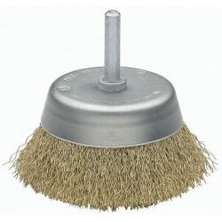 Cepillo Taza Acero Ltdo 75mm 0,3mm P/taladro 50808-75 Bello