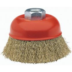 Cepillo Taza Acero Ltdo  75mm 0,3mm P/amoladora 50814-75 Bel