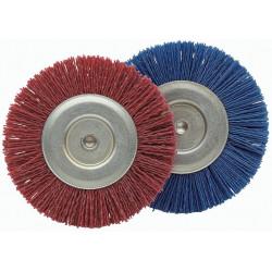 Cepillo Circular Nylon 100mm Grano 180 P/taladro 50825-100f