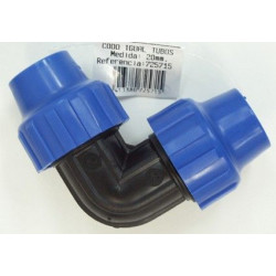 Codo Riego 20mm 90§ Igual S&m Pp 725715