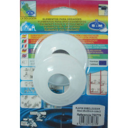 Plafon Embellecedor 25x35 2 Piezas 750779