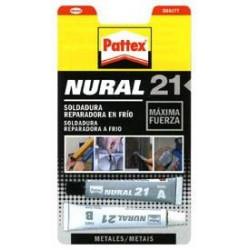 Cemento Para Metales 120ml. Nural-21 1550968