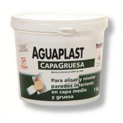 Masilla Aguaplast Rellenos Blanca Interior Tarro 1kg 820