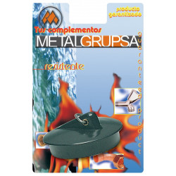 Tapon Fregad 44mm Goma Metalgrup