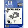 Bolsa Aspirador Moulinex Pack 5p.680