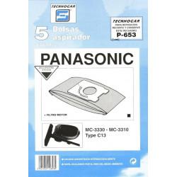 Bolsa Aspirador Panasonic Mc3300 5p.653