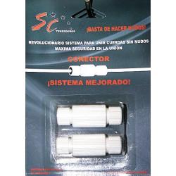 Conector De Cuerda Blister 2pz