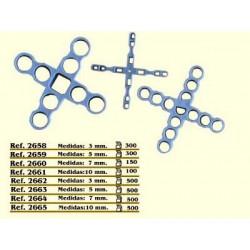 Cruceta Const 10mm Pavimentos Revest Cv Tools 100 Pz