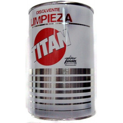Disolvente P/limpieza Utensilios Pintor 1 Lt Titan 08l000101