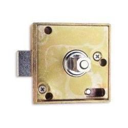 Cerradura Cuadrillo 8 Con Canal Zincada 598