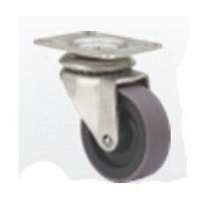 Rueda Gir 060mm 2-1034 Pl.051x051 040kg.liso Gom N/g Z Pgi A