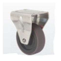 Rueda Fija 060mm 2-1035 Pl.051x045 040kg.liso Gom N/g Z Pgi