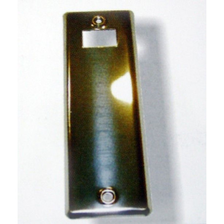 Placa Aluminio Plata R-317