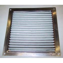 Rejilla Aluminio Plana 17x17 162