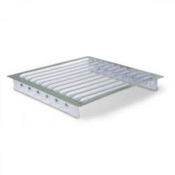 Rejilla Aluminio  Empotrada 17x17 R-163