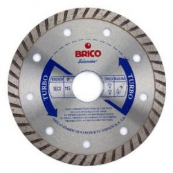 Disco Corte Turbo Sinterizado 125 Mm Diam Brico