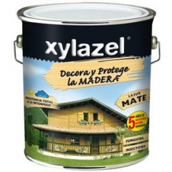 Protector Lasur Para Madera Mate Roble 750ml Xylazel Plus