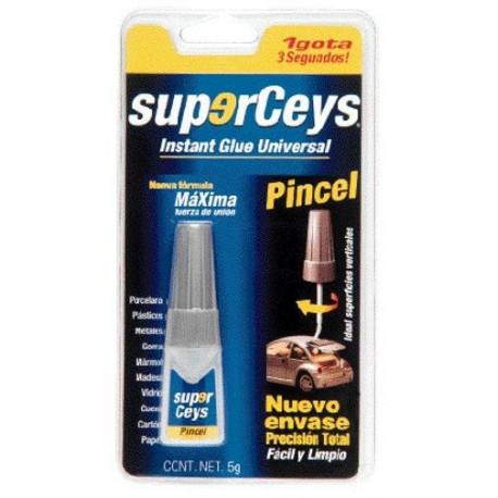 Pegamento Instantaneo Pincel 5 Gramos Superceys 504011