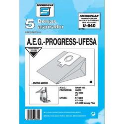 Bolsa Aspirador Ufesa At4205-4206 5pz.ref.910640