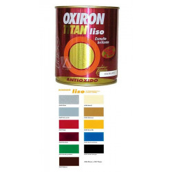 Esmalte P/metal Antiox Bri Negro 750ml Oxiron Liso 02c456734