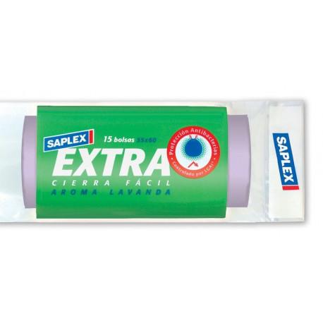 Bolsa Basura Saplex 55x60 Extra Antibacteria
