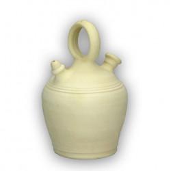 Botijo Barro Blanco 6,5l. Bo.1 Unidad