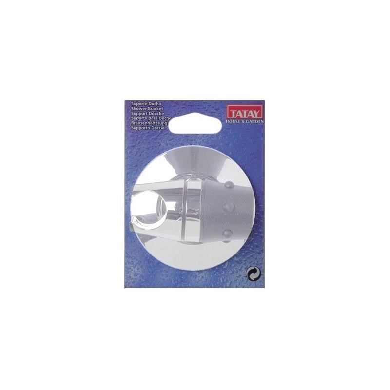 Comprar soporte ducha blanco 36011 unidad en masferreteria for Soporte ducha