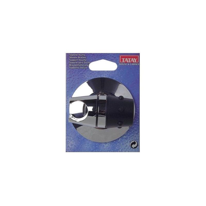 Comprar soporte ducha cromo 36019 unidad en masferreteria for Soporte ducha