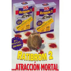 Raticida Ratibrom-2 Cebo Fresco 200gr 01-00030 Unidad