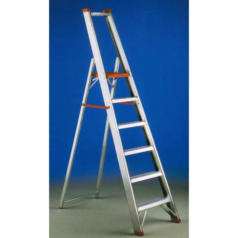 Escalera regina aluminio 8 pelda os reg 8 unidad for Escaleras 8 peldanos