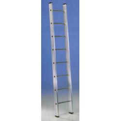 Escalera 1 Tramo Aluminio 12 Peldaños 3,5mt E112 Unidad