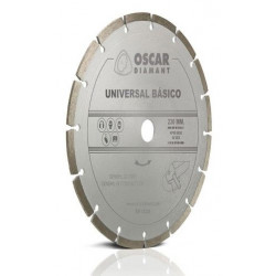 Disco Diamante Universal Basico 230mm. Unidad