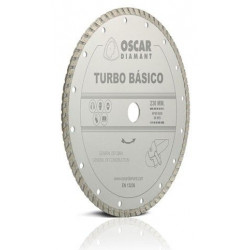 Disco Corte Turbo 115 Mm Diam Basico Oscar Diamant