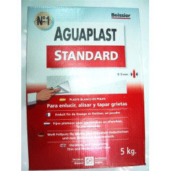 Plaste Aguaplast Standard Blanco Interior Estuche 5kg 829