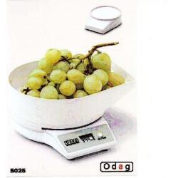 Balanza Cocina Electronica 5025 Blanca 2 Kg 103005050 Unidad