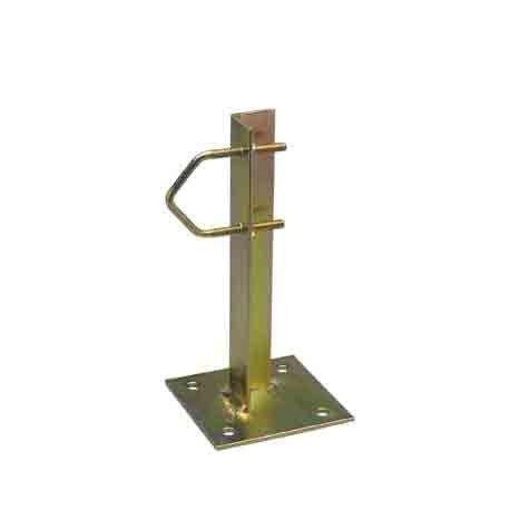 Abrazadera Mastil Con Platina 20 Cm. Ac-780 Unidad